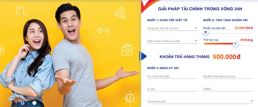 Hướng dẫn vay tiền Easy Credit online