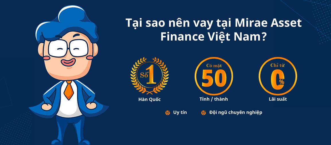 Hướng dẫn vay tiền Mirae Asset thủ tục đơn giản